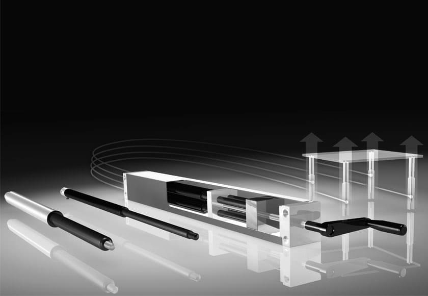 Linear hydraulic actuation systems - Easymotion